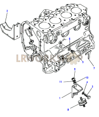 Engine Mountings Part Diagram
