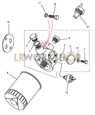 Oil Filter Part Diagram