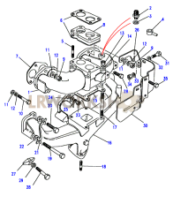 Manifolds, Inlet & Exhaust Part Diagram
