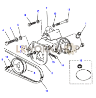 Power Steering Pump-Gemmer Part Diagram