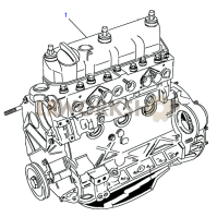 Stripped Engine Part Diagram