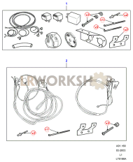 Towing Electrics Kits Part Diagram
