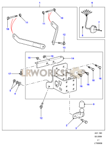 Towing Equipment - Drop Plate W/Tow Ball Part Diagram