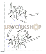 Towing Equipment - Adjustable Height Assembly Part Diagram