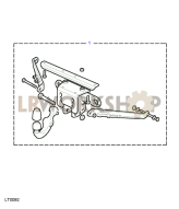 Towing Equipment - Drop Plate With Removable Tow Ball Part Diagram