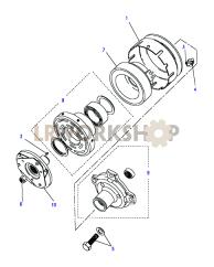 Air Conditioning Compressor Part Diagram