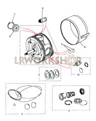 Air Conditioning Compressor-Kits Part Diagram
