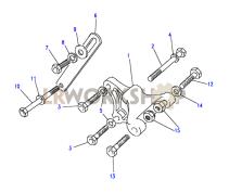 Alternator Bracket Part Diagram