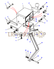 Towing Equipment - Towing Drop Plate With Tow Ball Part Diagram