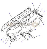 Manifold Inlet Part Diagram