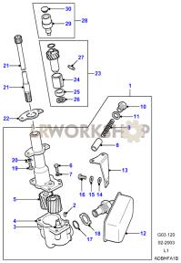 Oil Pump Part Diagram