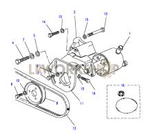 Power Steering Pump Part Diagram
