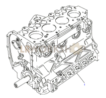 Short Engine Part Diagram