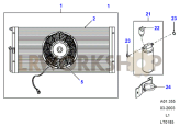 Air Conditioning - Condenser (300Tdi AUS) Part Diagram