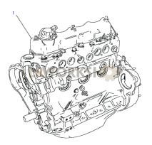 Stripped Engine Part Diagram