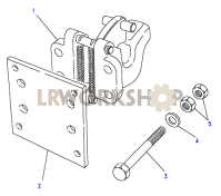 Towing Equipment - Towing Hook - Heavy Duty Part Diagram
