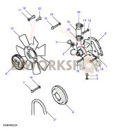 Water Pump Part Diagram