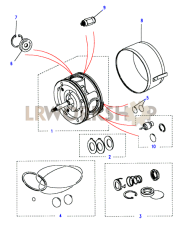 Air Conditioning Compressor-Kits Part Diagram