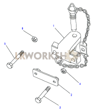 Towing Equipment - Towing Jaw Part Diagram