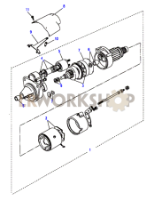 Starter Motor Valeo Part Diagram
