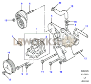 Coolant Pump Part Diagram