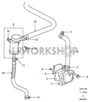 Engine Breather Part Diagram