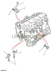 Jet Adaptors Part Diagram