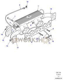 Manifolds Part Diagram