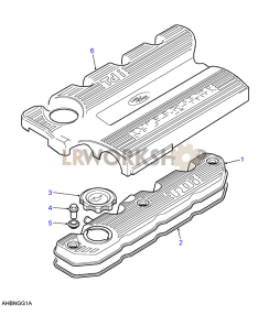 Rocker Cover Part Diagram