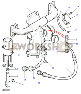 Turbocharger Part Diagram
