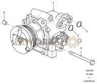 Air Conditioning Compressor Part Diagram