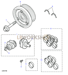Crankshaft Part Diagram