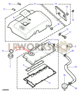 Cam Cover Part Diagram