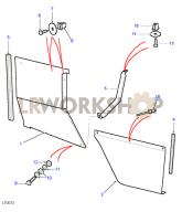 Wheelguards - Type A Part Diagram