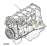Engine Short Part Diagram