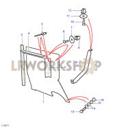 Wheelguards - Type B Part Diagram