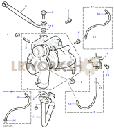 Turbo Charger Part Diagram