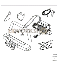 Winch Assembly Part Diagram