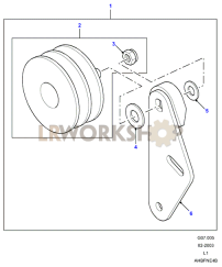 Air Con Idler Pulley Part Diagram
