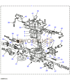 Carburetter Part Diagram