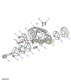 Camshaft Timing Chain Part Diagram