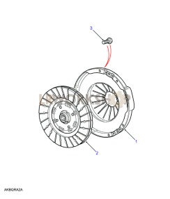 Clutch Plate Part Diagram