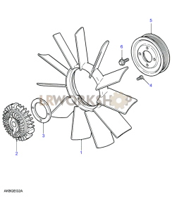 Fan Assembly Part Diagram