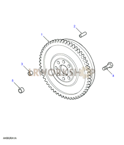 Flywheel Part Diagram