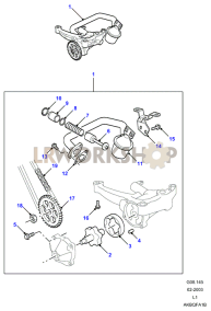 Oil Pump Part Diagram