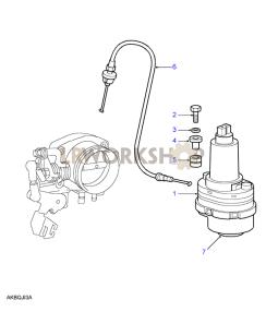 Throttle Actuator Part Diagram