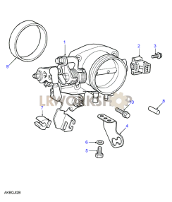 Throttle Body Part Diagram