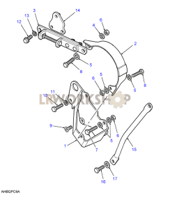 Alternator Bracket Part Diagram