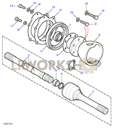Drive Shafts Part Diagram