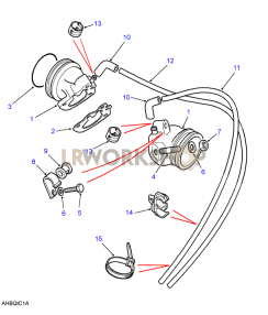 Carburetter Adaptors Part Diagram